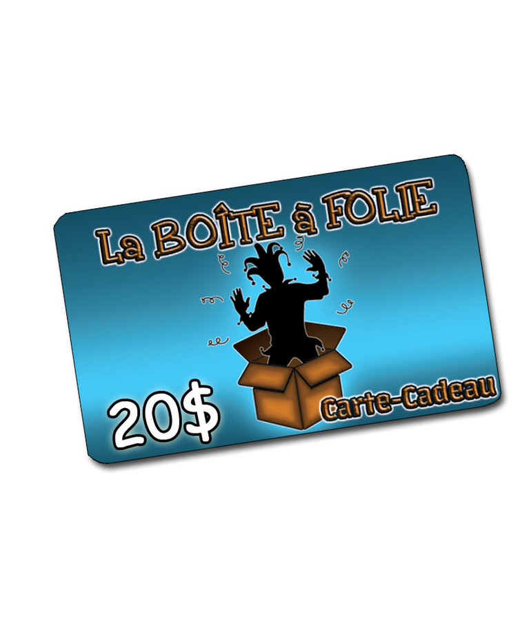 Gift Card  ( $20.00 ) For store only