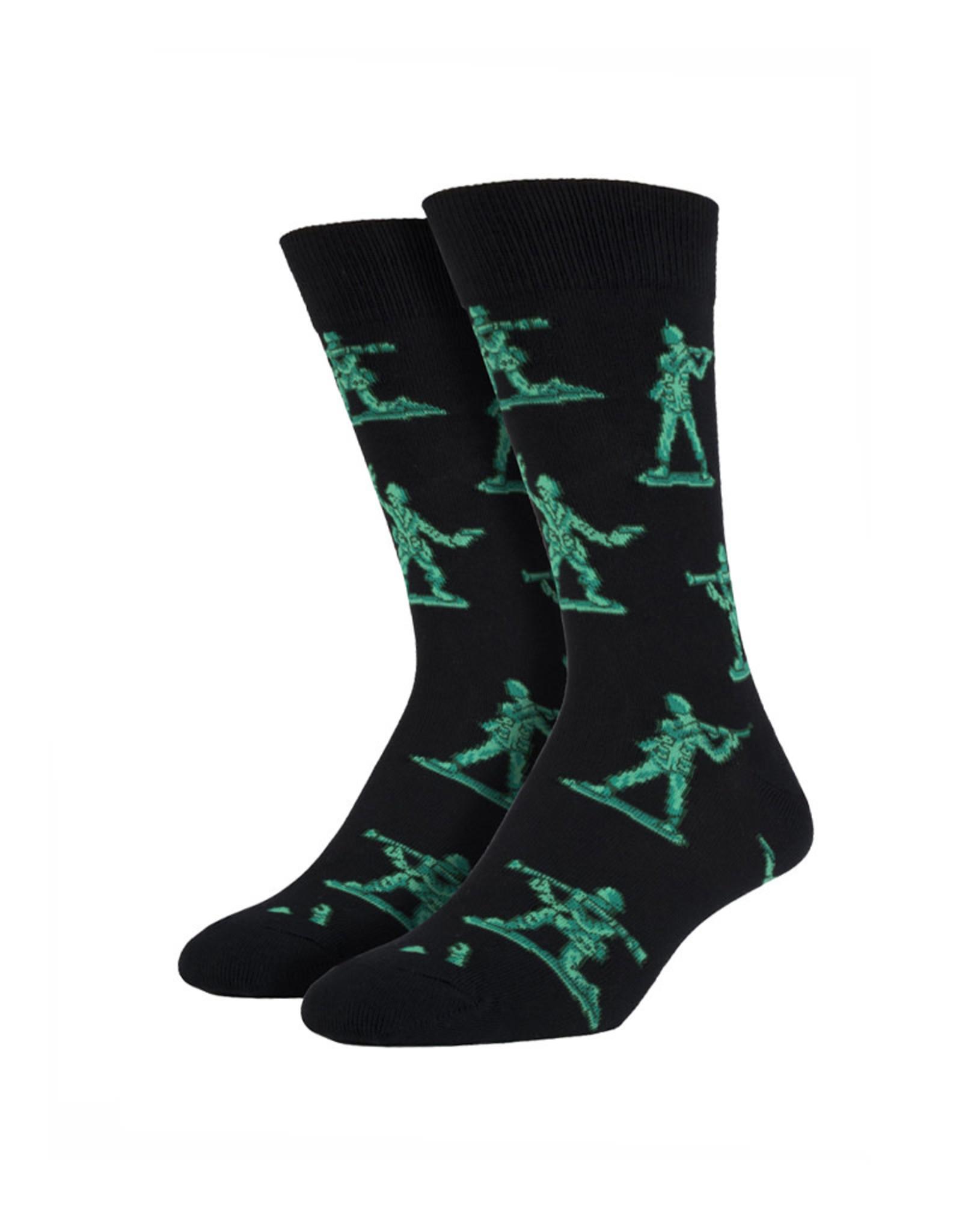 Little green soldiers ( Socks ) Sock Smith