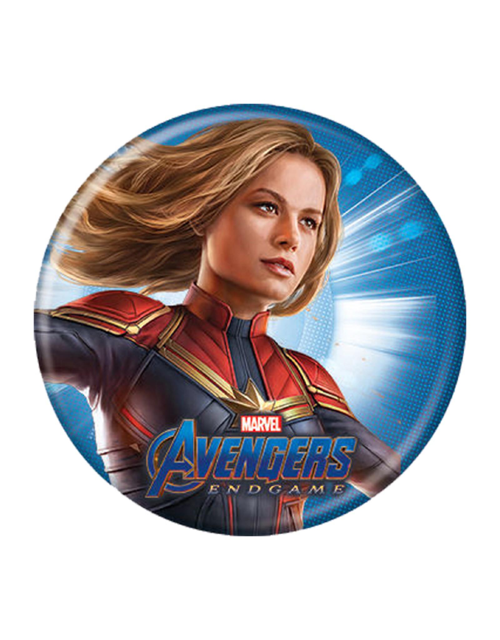 Marvel Marvel ( Button ) Endgame Captain Marvel