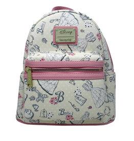 Disney Disney ( Mini sac à dos Loungefly )  La belle et la bête