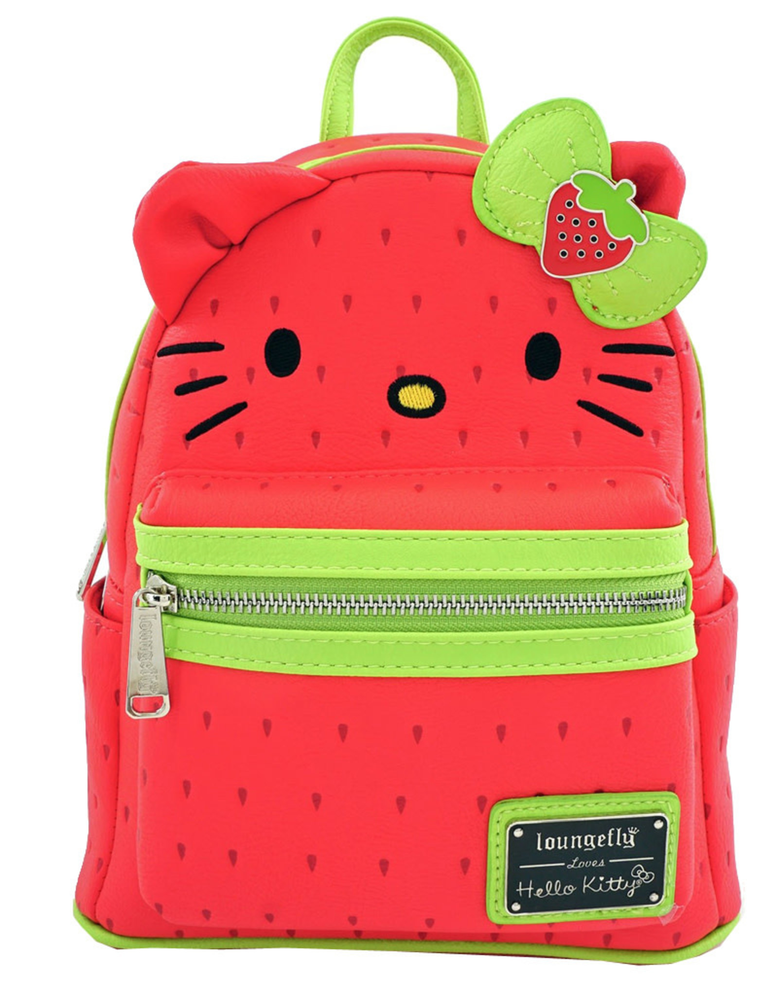 Hello Kitty ( Loungefly Mini Backpack ) Strawberry
