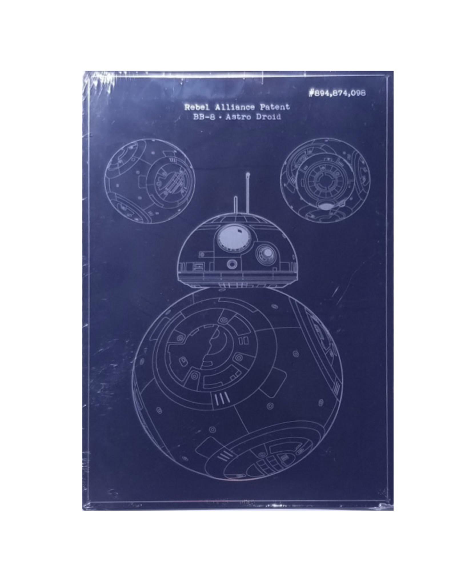 Star Wars Star Wars ( Embossed metal plate  ) BB-8