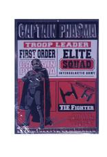 Star Wars Star Wars ( Embossed metal plate ) Captain Phasma