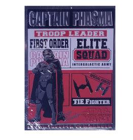 Star Wars Star Wars ( Affiche en metal Embossée ) Capitaine Phasma