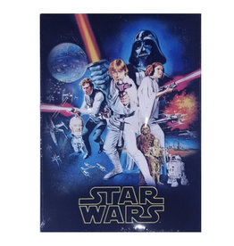 Star Wars Star Wars ( Embossed Mtetal Plate ) Retro