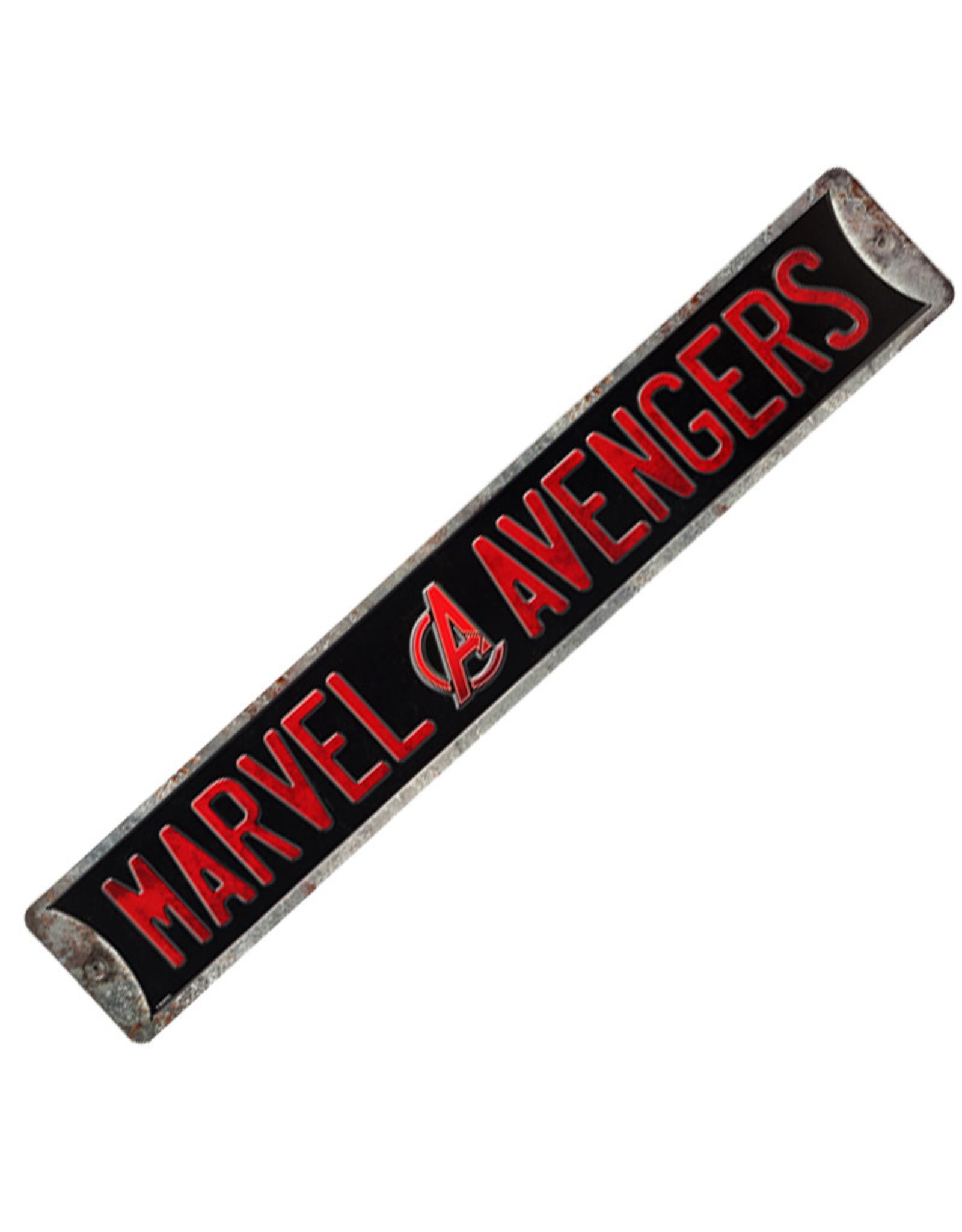 Marvel Affiche en métal embossée ( Marvel Avengers )