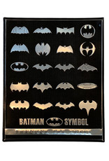 Dc comics Dc Comics ( Embossed Metal Plate ) Batman Logo