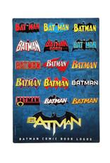 Dc comics Dc Comics ( Embossed Metal Plate ) Years of Batman Logo