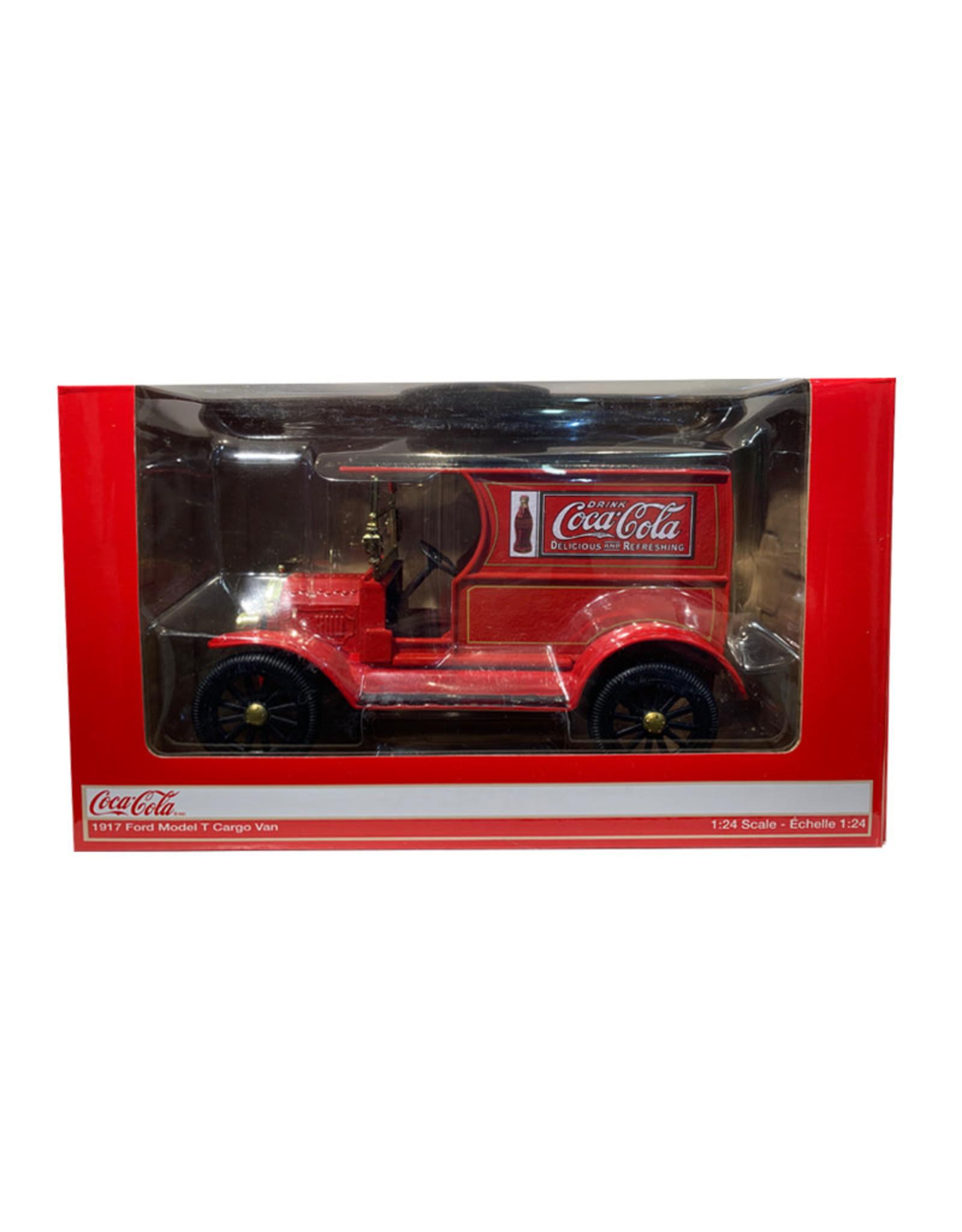 Coca-Cola Coca-Cola ( Die Cast ) 1917 Ford Model T Cargo Van