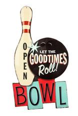 Bowling ( Embossed Metal Plate )