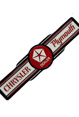 Chrysler Plymouth ( Embossed Metal Plate )