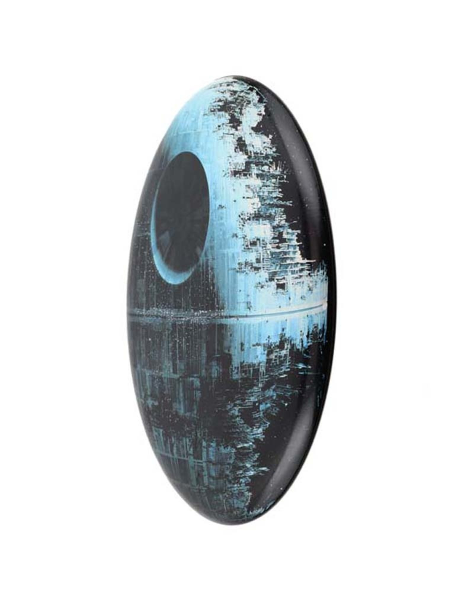 Star Wars Star Wars ( Embossed Metal Plate  ) Button Death Star