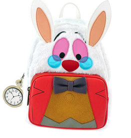 Disney Disney ( Mini Sac à Dos Loungefly ) Alice Lapin Blanc