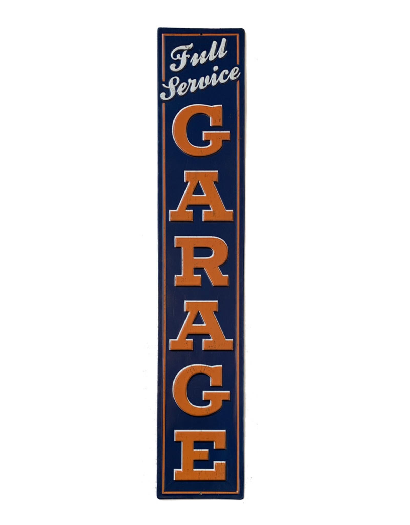 Full Service Garage ( Embossed Metal Plate )