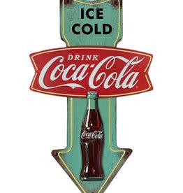 Coca-Cola Coca-Cola ( Affiche en métal embossée ) Glace froide