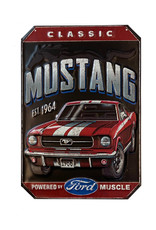 Ford ( Embossed Metal Plate ) Mustang EST 1964