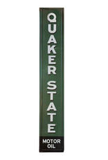 Quaker State ( Embossed Metal Plate )