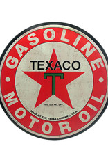 Texaco ( Embossed Metal Plate ) Oversize