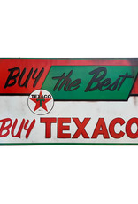 Texaco ( Embossed Metal Plate ) Buy the  best