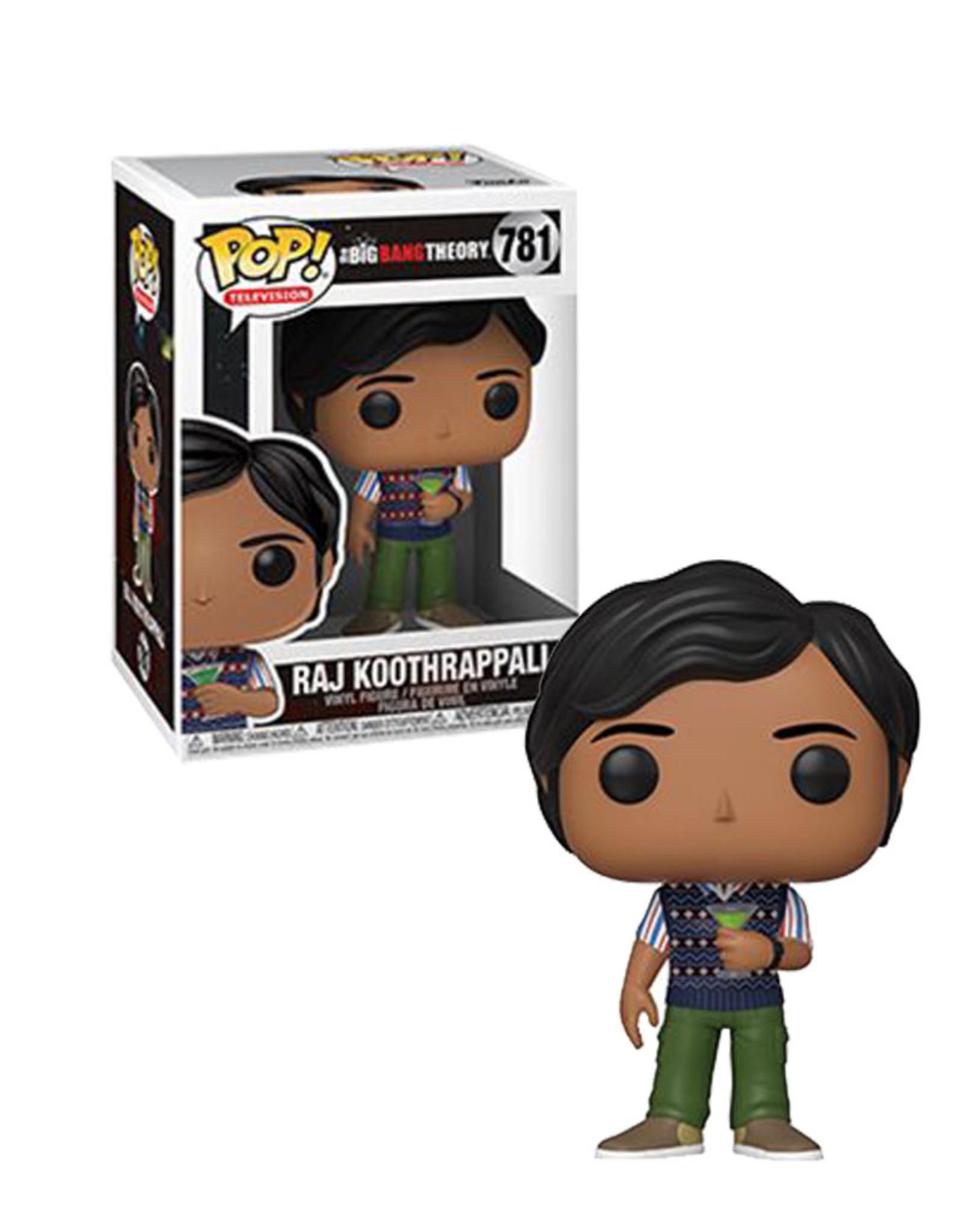 Raj Koothrappali 781 ( Funko Pop ) The Big Bang Theory