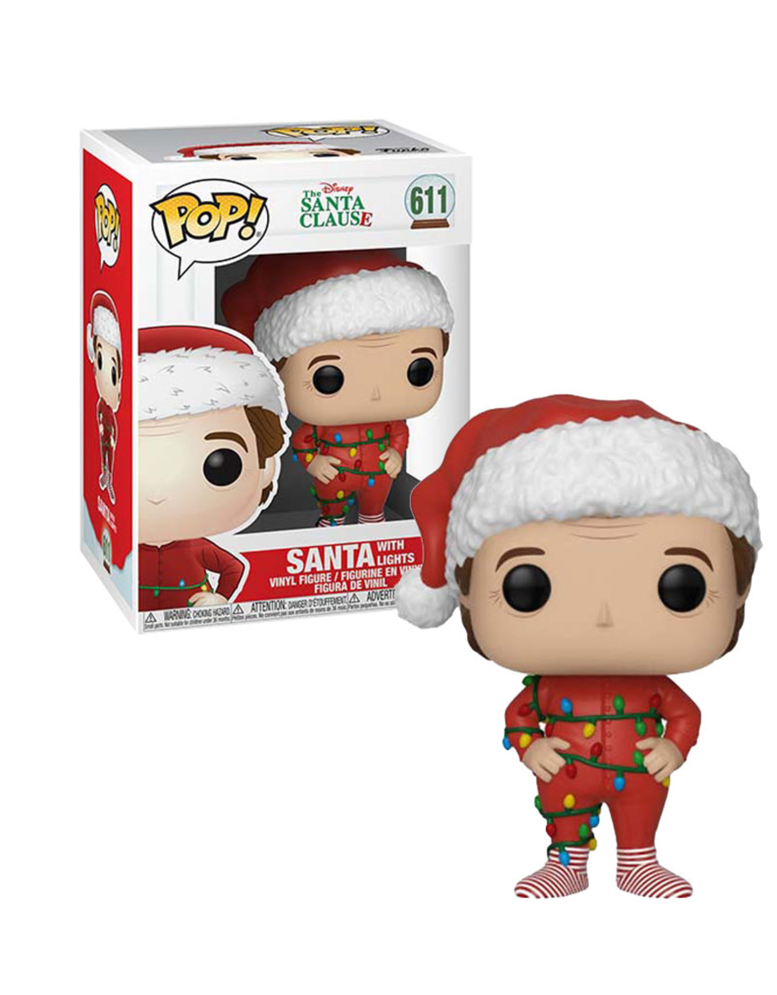 Santa With Lights 611 ( Funko Pop ) The Santa Clause