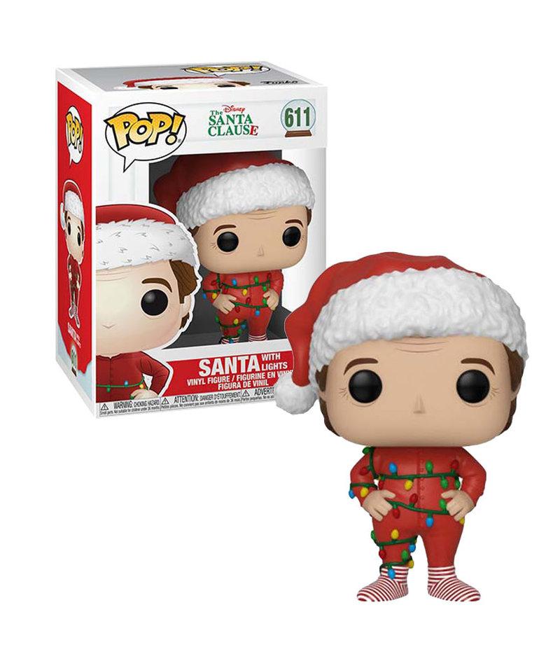 Santa With Lights 611 ( Funko Pop ) The Santa Clause
