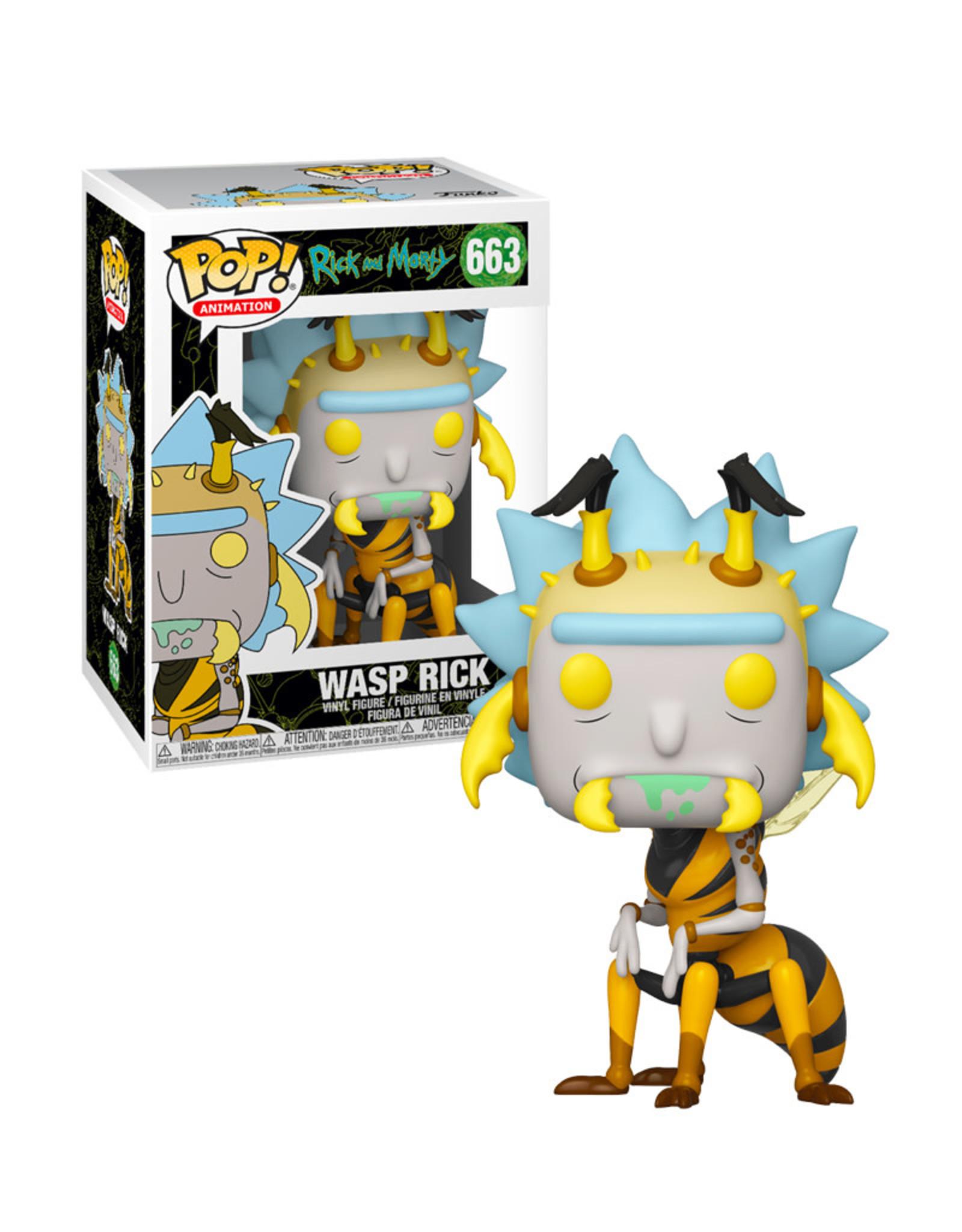 Rick and Morty Wasp Rick 663 ( Funko pop ) Rick and Morty