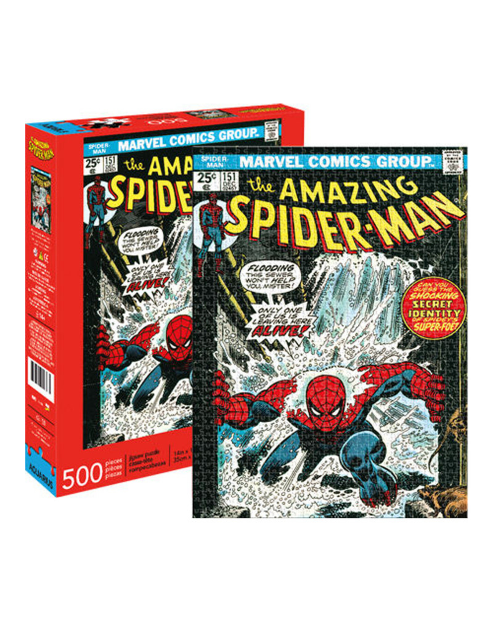 Marvel Spider-Man ( Puzzle 500 pcs )