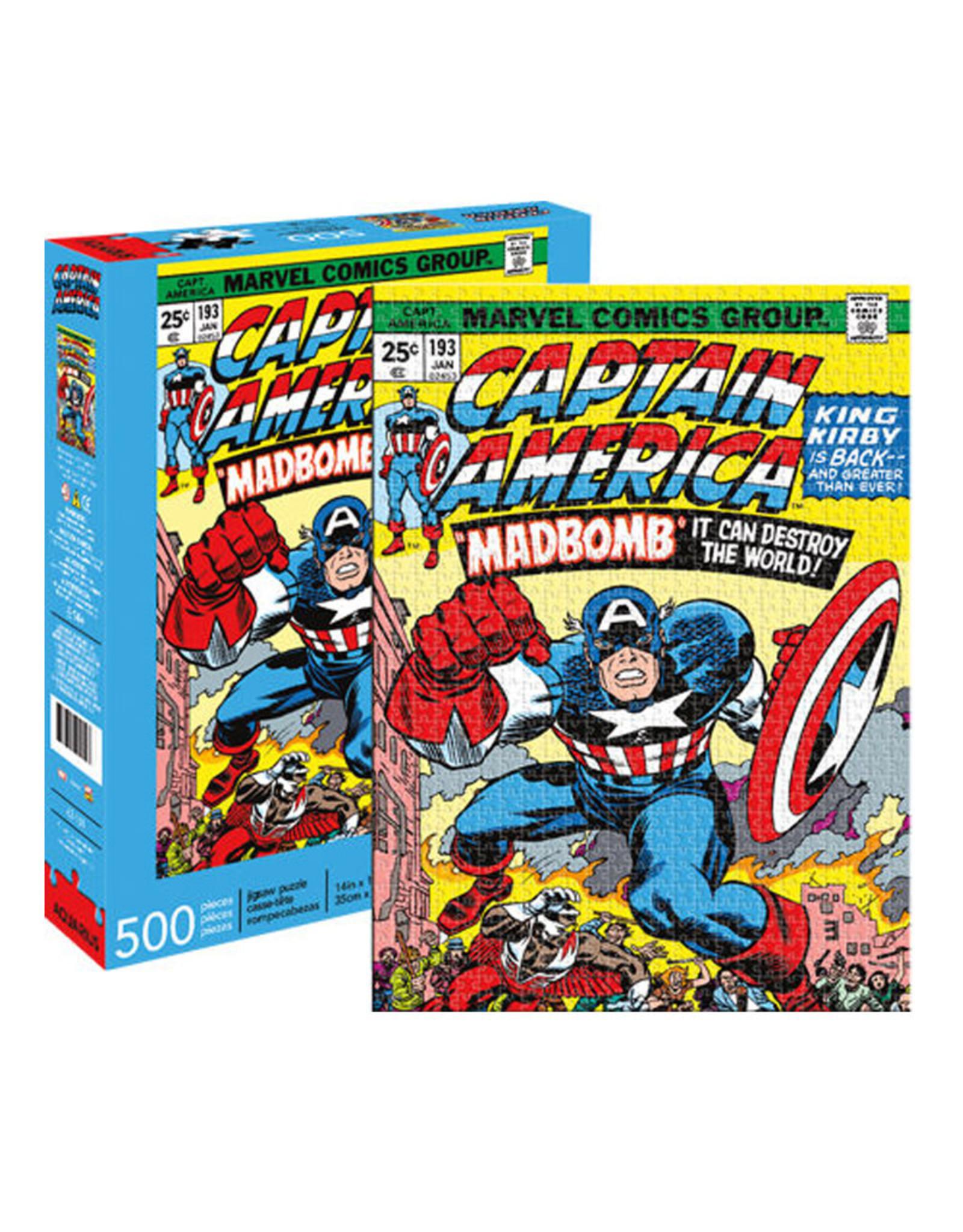 Marvel Marvel ( Puzzle 500 pcs ) Captain America Comic Book