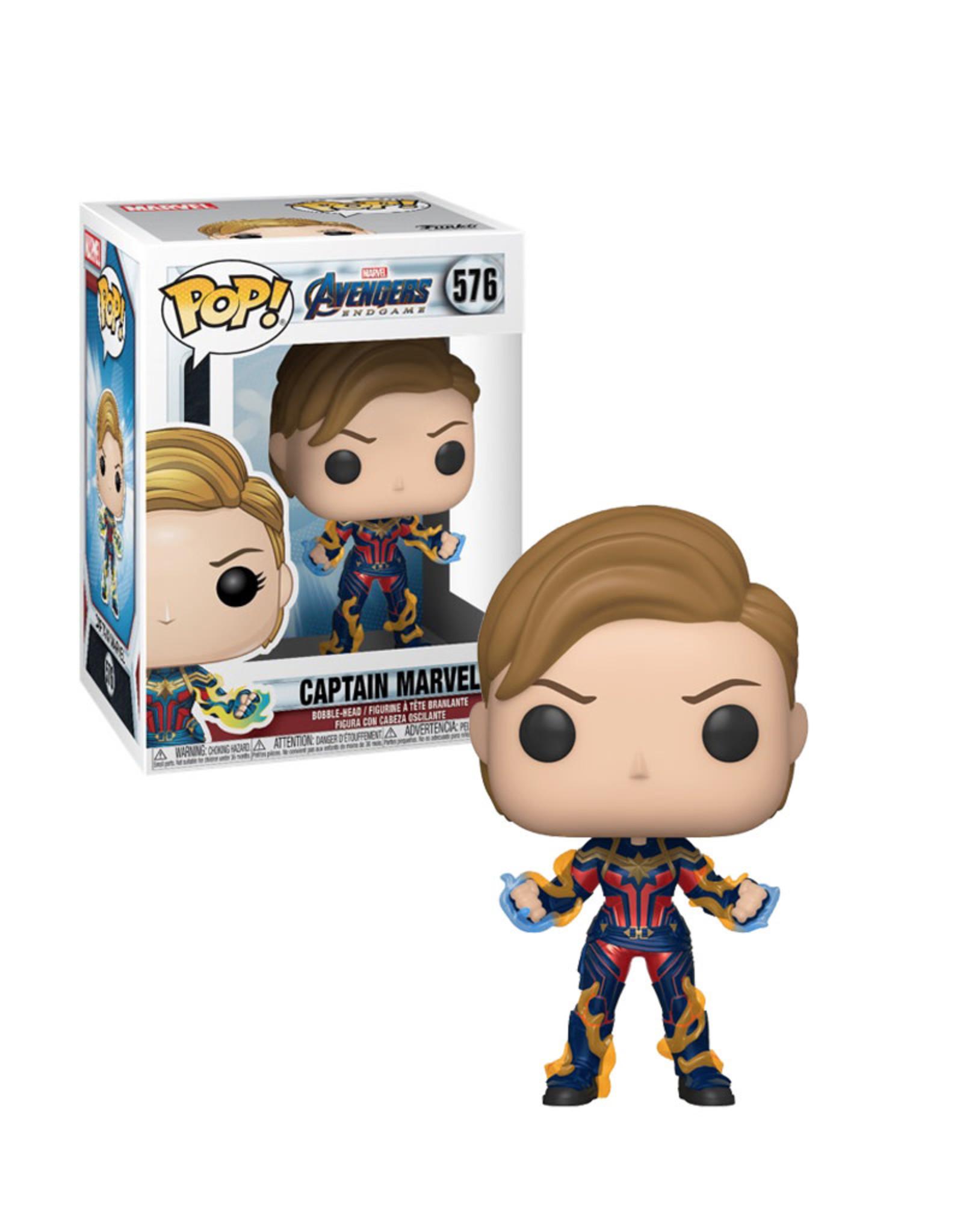 Marvel Captain Marvel 576 ( Funko Pop ) Avengers End Games