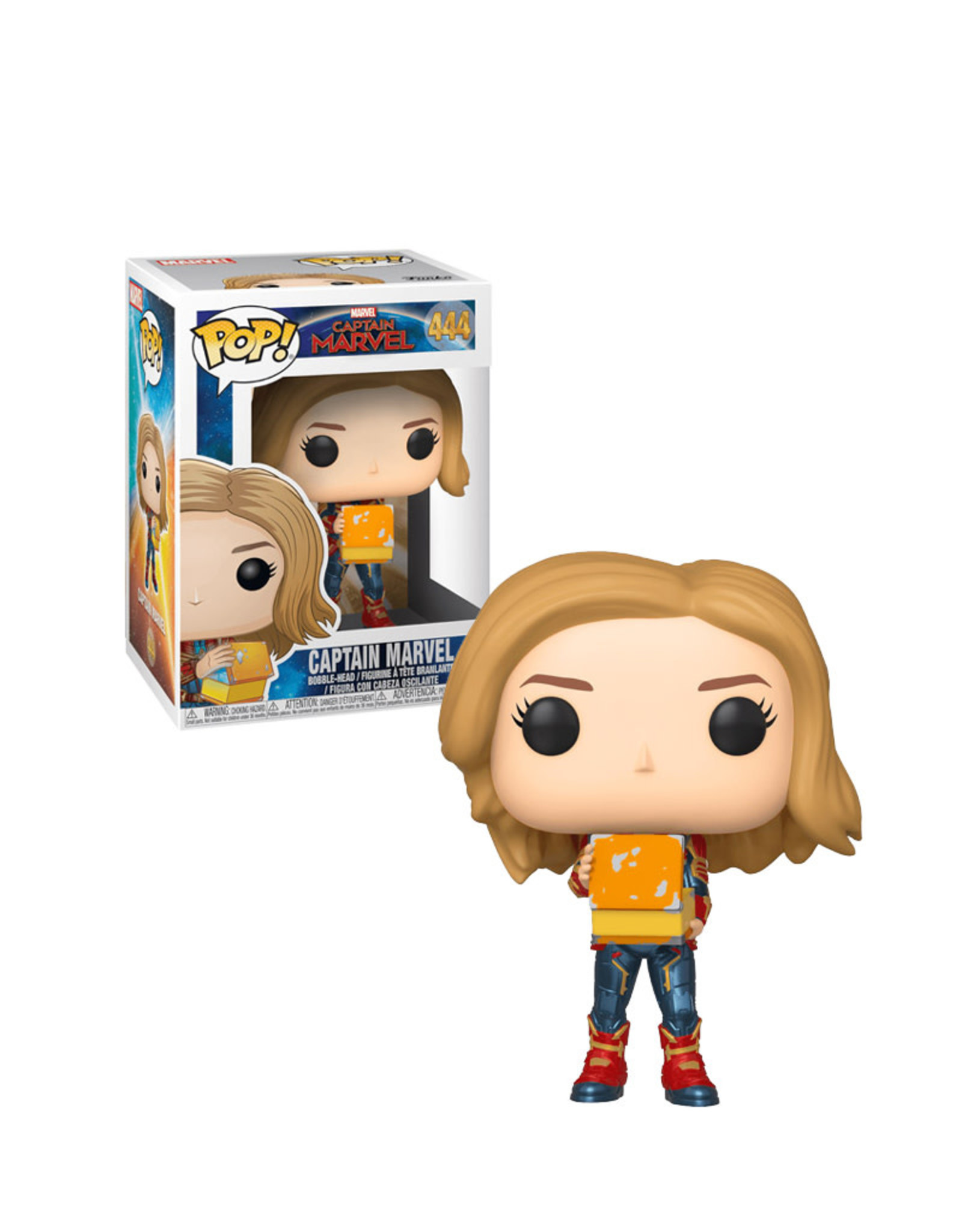 Marvel Captain Marvel 444 ( Funko Pop ) Captain Marvel