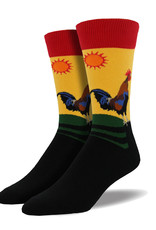 Rooster Crowing ( Socksmith Sock )