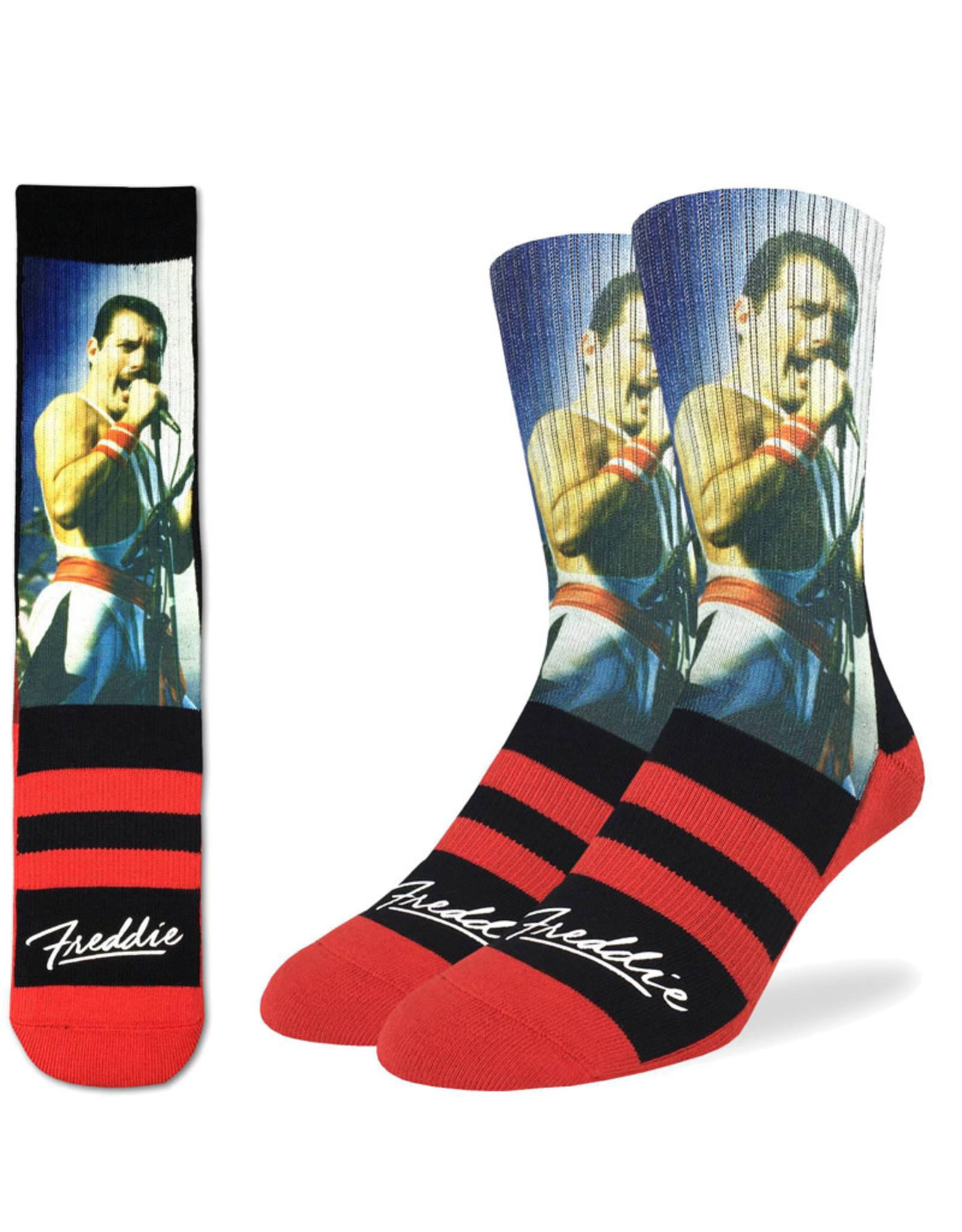 Freddie Mercury ( Good Luck Sock ) In Rio