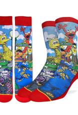 Sesame Street Family  ( Good Luck Sock )
