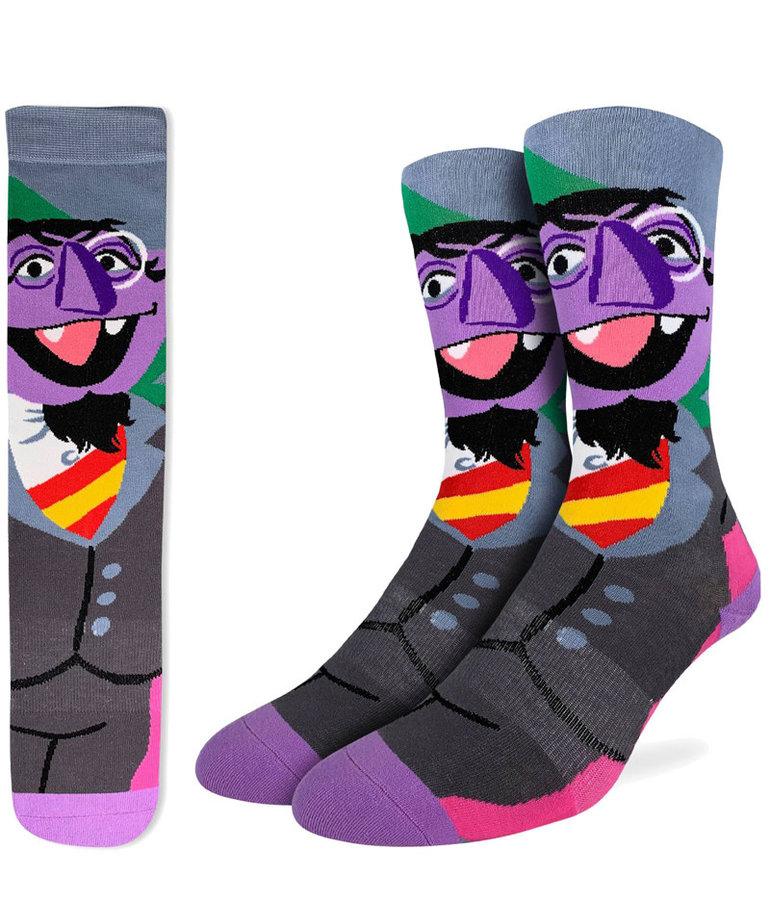 Sesame Street ( Good Luck Sock ) Count Von Count