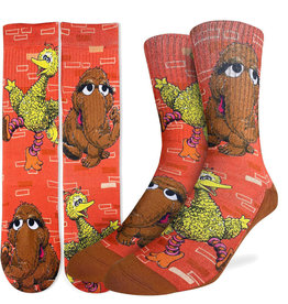 Sesame Street ( Good Luck Sock ) Big Bird & Mr. Snuffleupagus