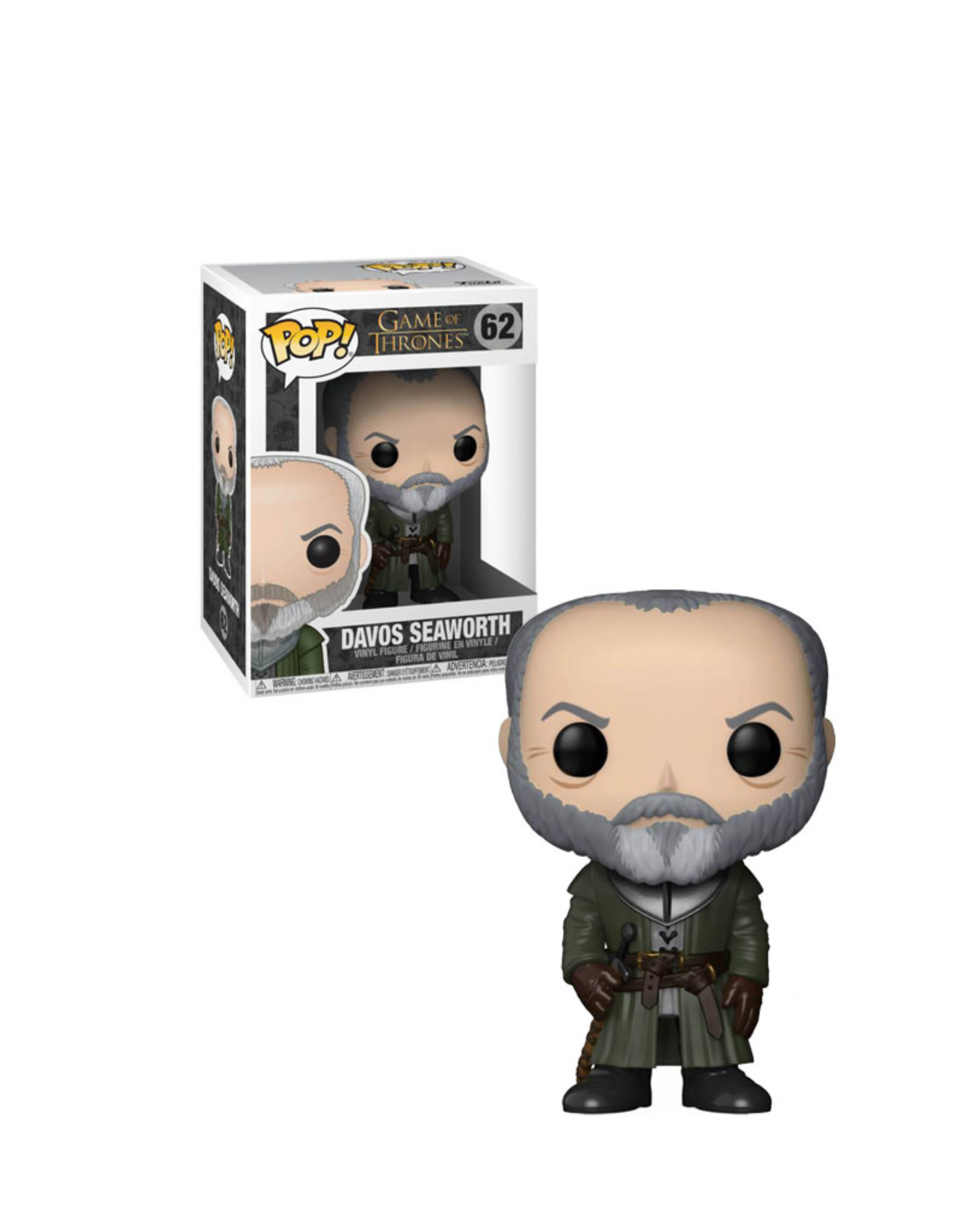 Game of thrones Davos Seaworth 62 ( Funko Pop ) Game of Thrones