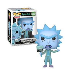 Rick and Morty Hologram Rick Clone 659 ( Funko pop ) Rick and Morty