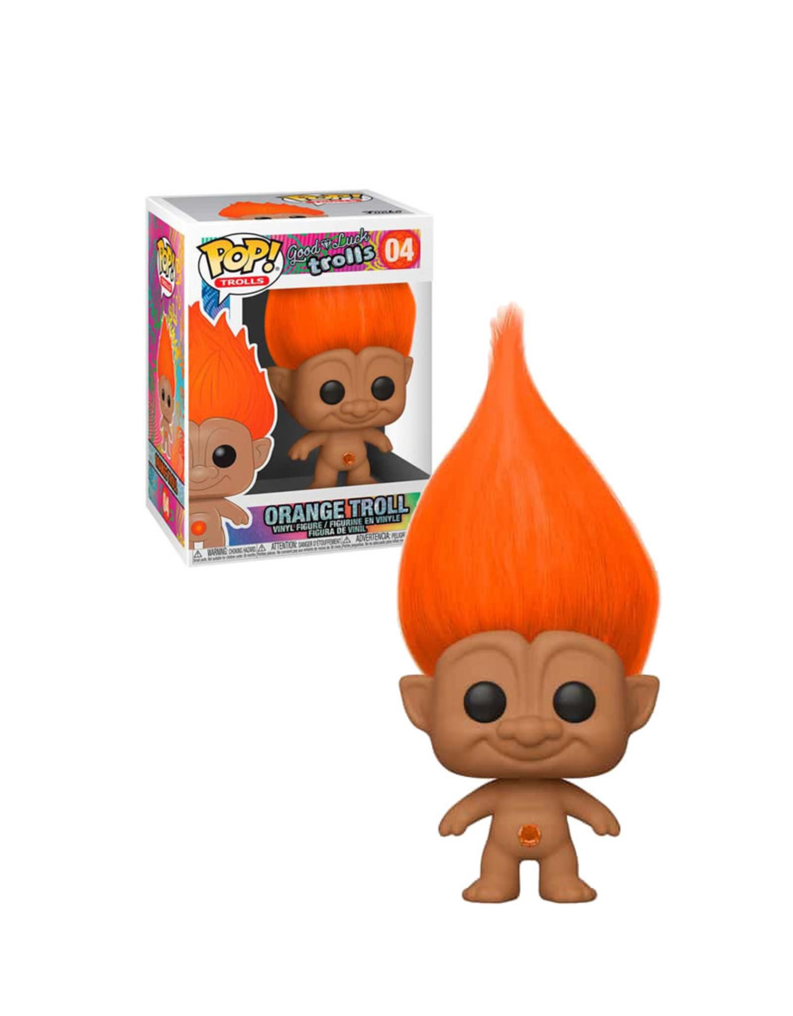 Orange Troll 04 ( Funko Pop ) Good Luck Trolls