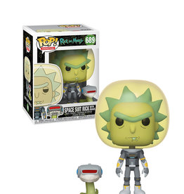 Rick and Morty Space Suit Rick With Snake 689 ( Funko Pop ) Rick and Morty