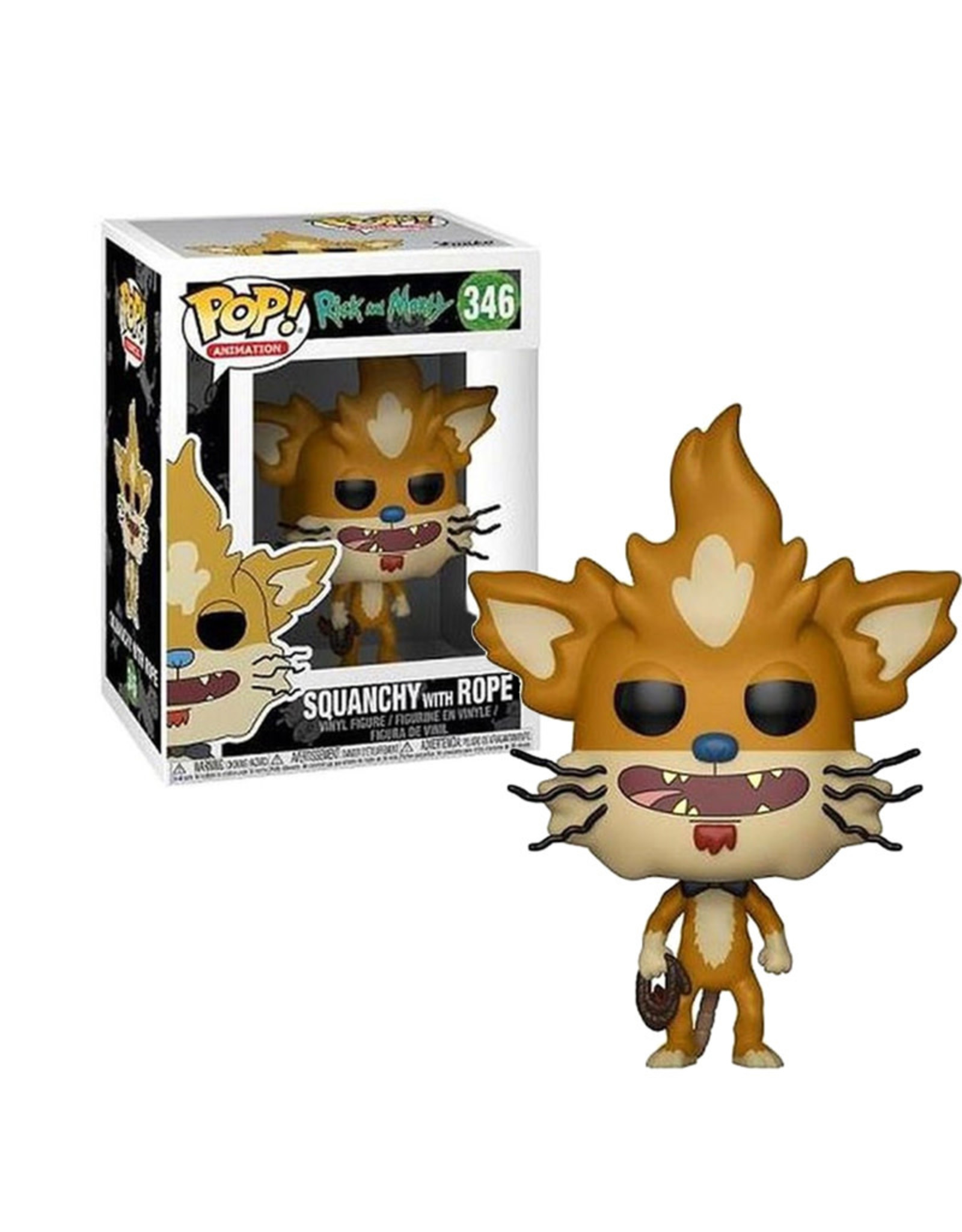 Squanchy With Rope 346 ( Funko Pop ) Rick and Morty