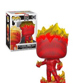 Marvel The Original Human Torch 501 ( Funko Pop ) Marvel 80 Years