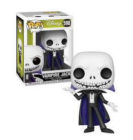 The Nightmare Before Christmas Vampire Jack 598 ( Funko Pop ) Disney