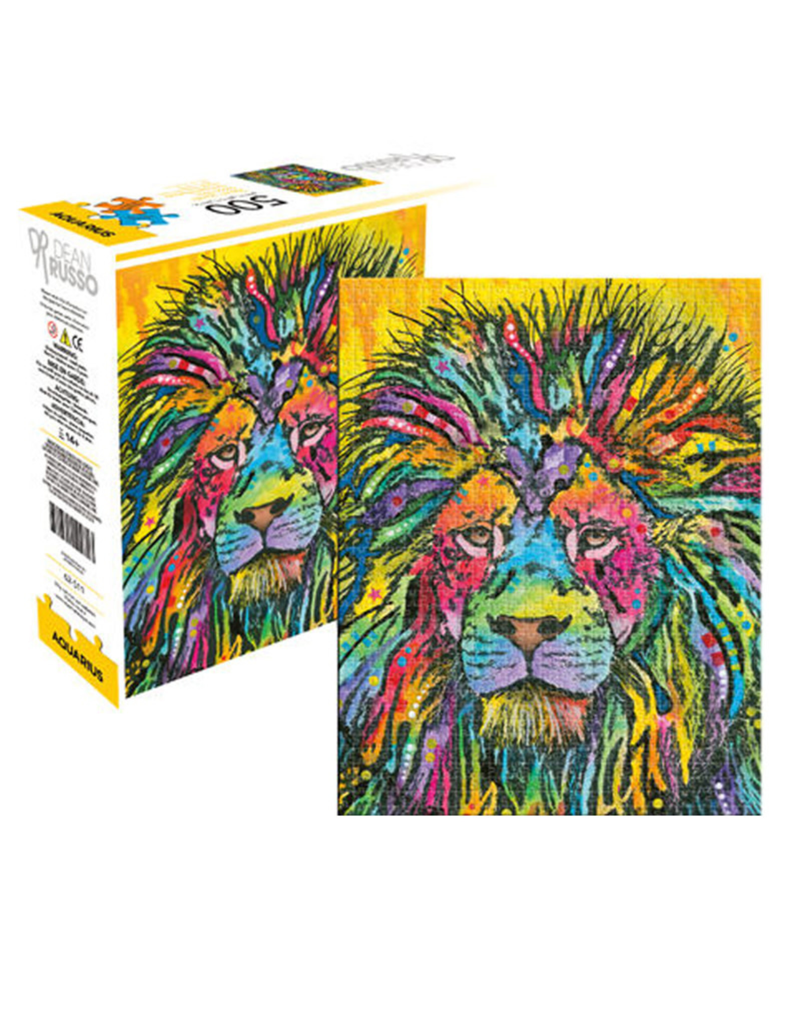 Multicolored Lion ( Puzzle 500 pcs )