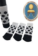 Chair Socks ( Spotted Black )