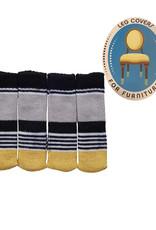 Chair Socks  ( Striped Shiny )