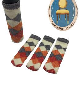 Chair Socks (  Diamond Patterns )