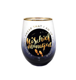 Harry Potter Harry Potter ( Wine Glass ) Mischief Managed