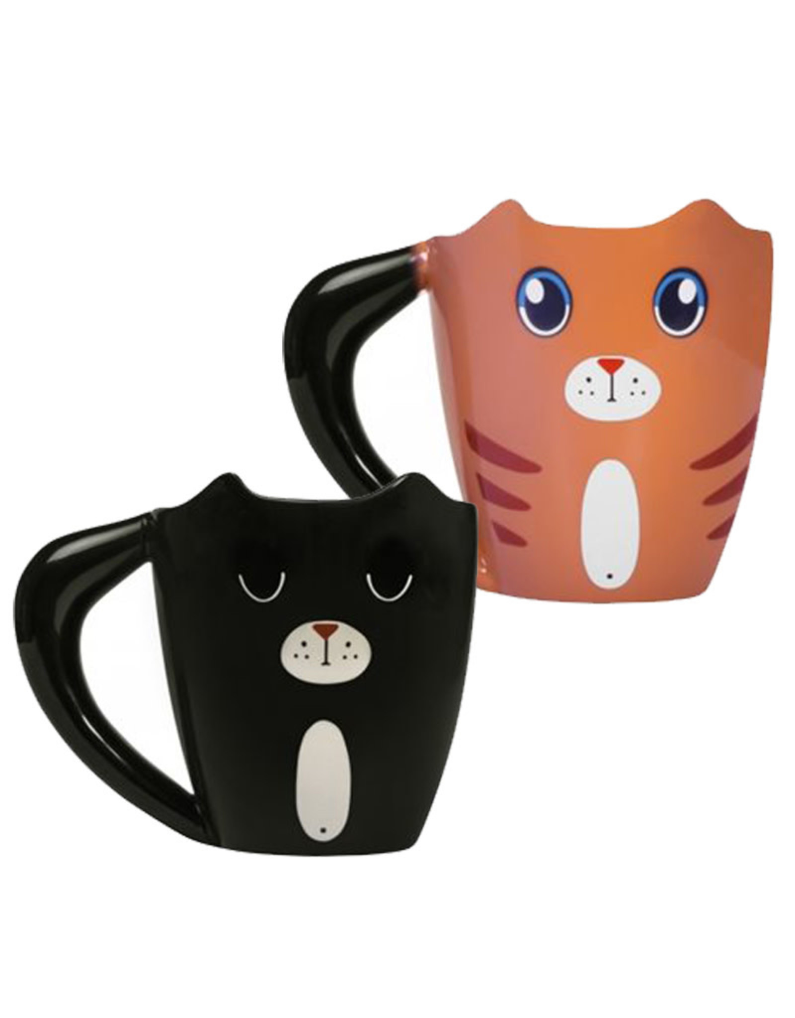Chat thermo-réactive ( Tasse )