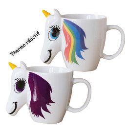 Unicorn Thermoreactive ( Mug )